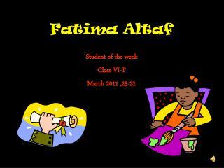 Fatima Altaf