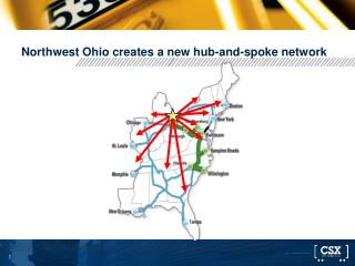 Northwest Ohio creates a new hub-and-spoke network