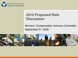 2010 Proposed Rate Discussion