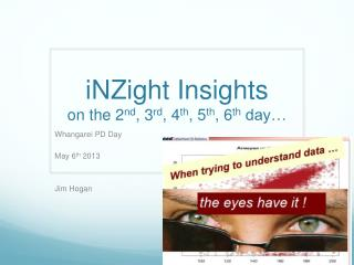 iNZight  Insights on the  2 nd , 3 rd , 4 th , 5 th , 6 th  day �