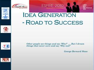 Idea Generation - Road to Success