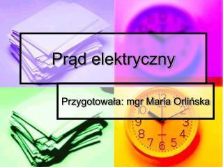 Pr?d elektryczny