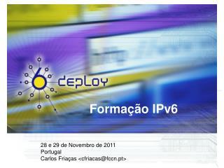 Forma��o IPv6