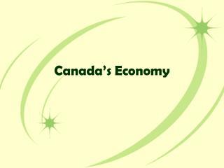 Canada's Economy
