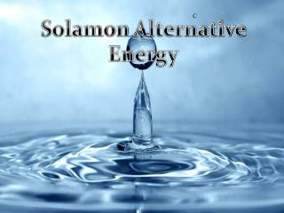 Solamon Alternative Energy | Offers insight and provide the