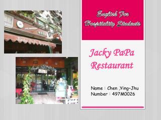 Jacky PaPa Restaurant