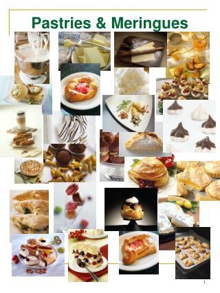 Pastries  Meringues