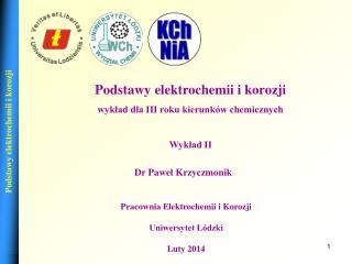 Dr Pawel Krzyczmonik