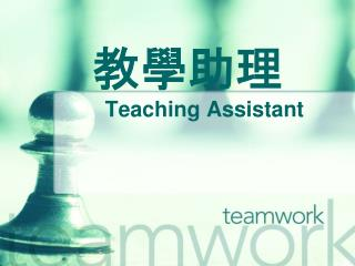 教學助理 Teaching Assistant