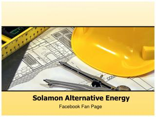 Solamon Alternative Energy - Facebook Fan Page