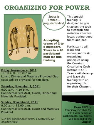 Friday ,  November 4,  2011 : 11:00 a.m.- 6:30 p.m.