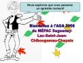 Bienvenue   lAGA 2008 du M PAC Saguenay- Lac-Saint-Jean- Chibougamau-Chapais