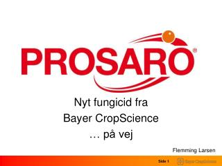 Nyt fungicid fra  Bayer CropScience � p� vej