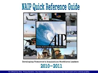 NAIP Quick Reference Guide