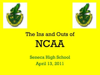The Ins and Outs of  NCAA