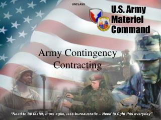 U.S. Army  Materiel  Command