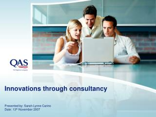 Innovations through consultancy