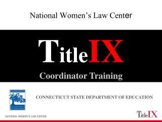 National Women's Law Cent er