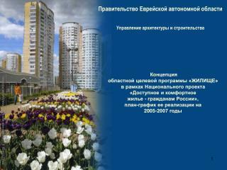 Правительство Еврейской автономной области