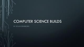 Computer science builds
