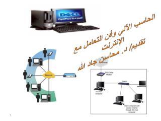 الحاسب الآلي وفن التعامل مع الإنترنت تقديم/  د . محاسن جاد الله