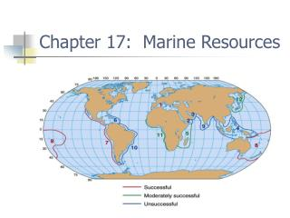 Chapter 17:  Marine Resources