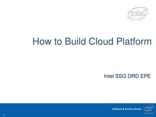 How to Build Cloud Platform