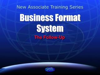 Business Format System