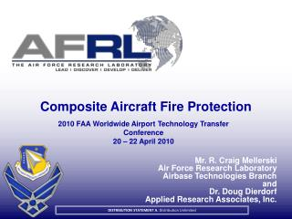 Composite Aircraft Fire Protection