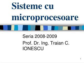 Sisteme cu microprocesoare