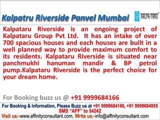 Kalpataru Riverside Apartment Panvel Mumbai @ 09999684166