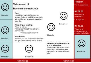 Velkommen til  Roskilde Maraton 2008