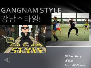GANGNAM STYLE 강남스타일 !