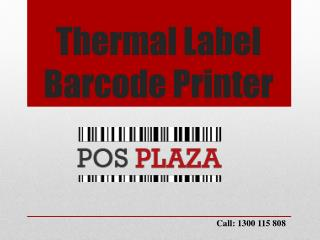 Thermal Label Barcode Printer