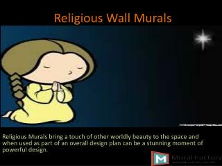 Religious Wall Mural