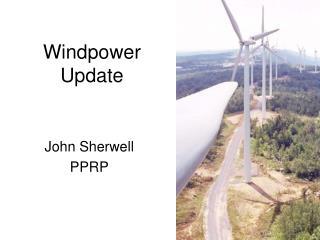Windpower Update