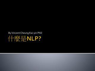 什麼 是 NLP?