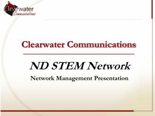 Clearwater Communications