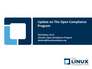 Update on The Open Compliance Program