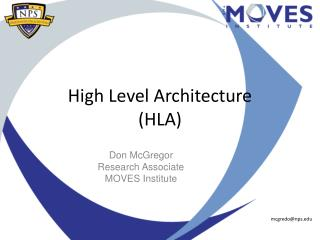High Level Architecture (HLA)
