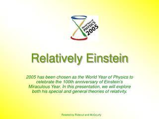 Relatively Einstein