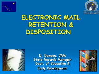 ELECTRONIC RECORD DEFINED UNDER  AS 40.21.1504