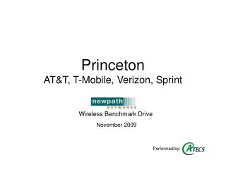 Princeton  AT&T, T-Mobile, Verizon, Sprint