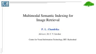 Multimodal Semantic Indexing for Image Retrieval