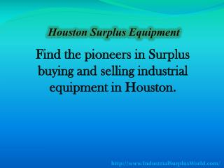 Looking for a Electric Surplus Buyers?