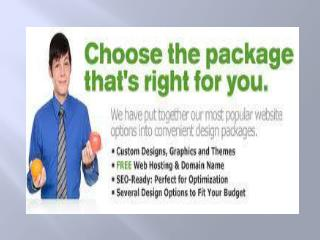 Best Deal in Quality Web Design packages