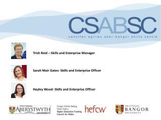 Trish Reid – Skills and Enterprise Manager