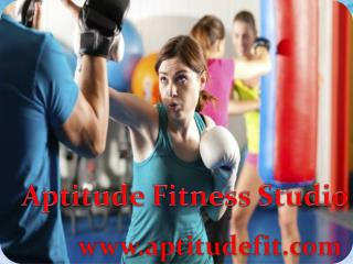 Join Aptitude Fit Body Weight Training Center in Delhi