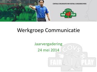 Werkgroep Communicatie