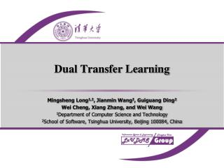 Dual Transfer Learning